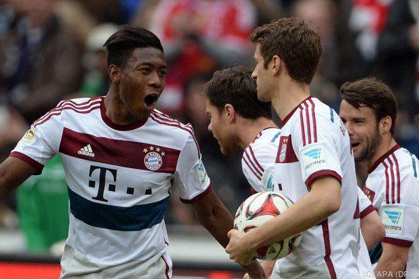 Die Bayern siegten in Hannover ohne zu brillieren