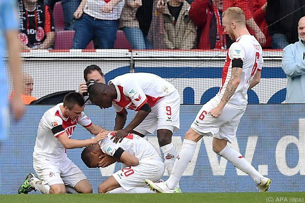 Köln feierte Heimsieg gegen Frankfurt