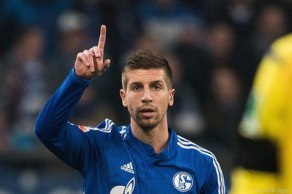 Nastasic zeigte im Schalke-Dress bereits mehrmals auf