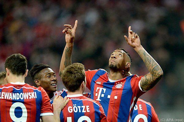 Jerome Boateng traf zum 2:0 für Bayern