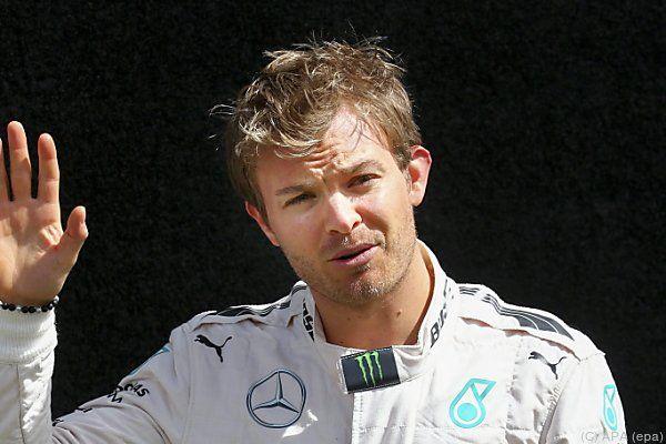 Nico Rosberg war der Schnellste