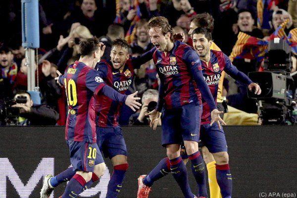 Barcelona schaffte es ins Viertelfinale