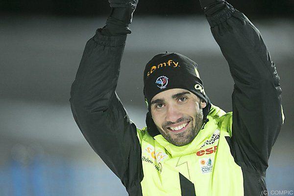 Franzose gewann 10-km-Sprintrennen