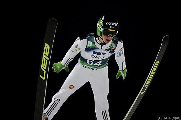 Peter Prevc gewann mit Slowenien den Teambewerb
