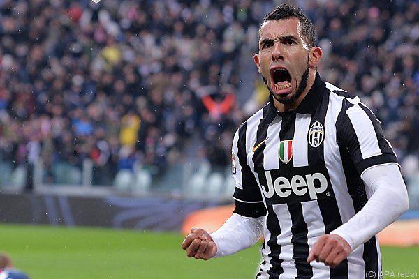 Tevez traf für Juventus