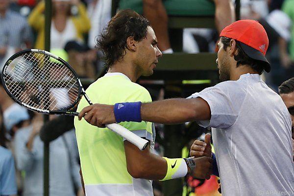 Nadal zog gegen Landsmann Verdasco den Kürzeren