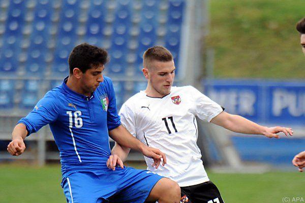 2:1-Sieg gegen die Altersgenossen aus Italien