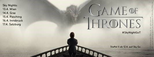 Game of Thrones 5 key art quer