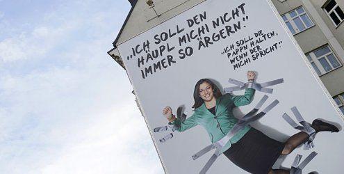 Debatten um Vassilakou-Plakat: ÖVP durfte dort nicht plakatieren