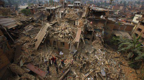 Erdbeben in Nepal: Zahl der Toten steigt offiziell auf mehr als 2.000