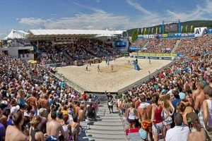 Neuerungen beim Beach Volleyball Grand Slam in Klagenfurt 2015