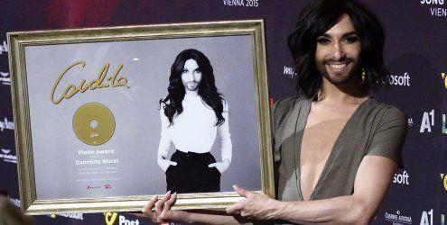 ''Das ist unglaublich'' - Conchita Wurst erhält Platin-Auszeichnung