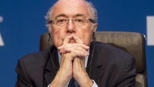 """""""Ich vergesse nicht"""": FIFA-Boss Blatter geht zum Angriff über"""