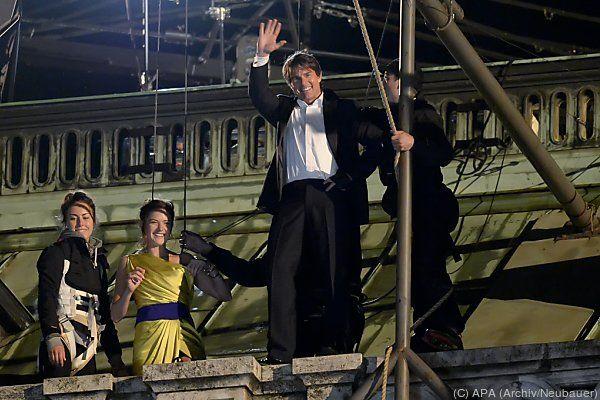 Tom Cruise gefällt es in Wien offenbar ganz gut