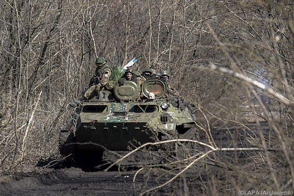 Separatisten sollen über fast 560 Panzer verfügen