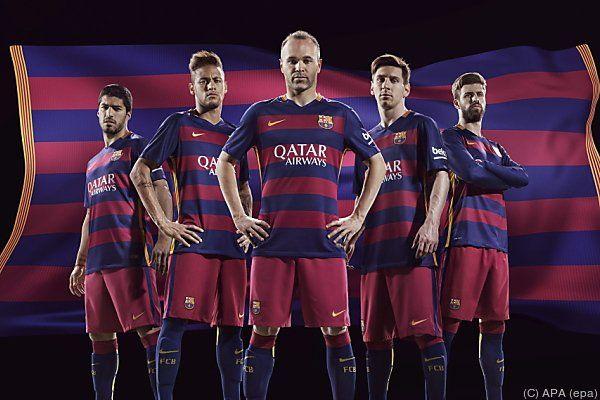 Das zweite Triple für Barcelona soll her