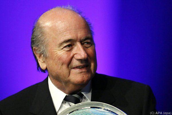 Auch für Blatter dreht sich die Welt weiter