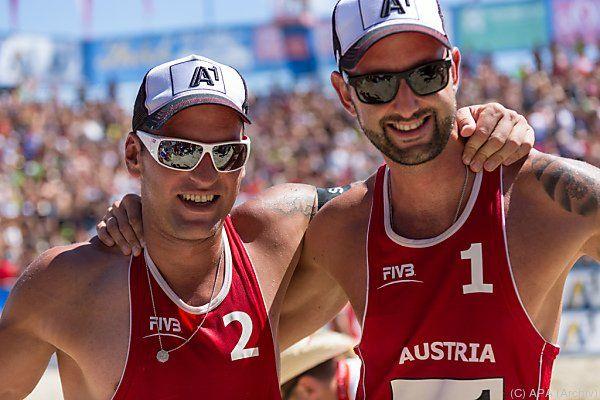 Die Österreicher lieferten erneut eine starke Leistung ab