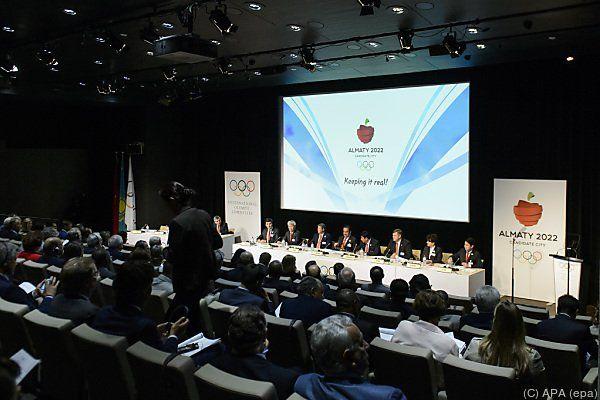 Almaty lieferte eine beeindruckende Präsentation