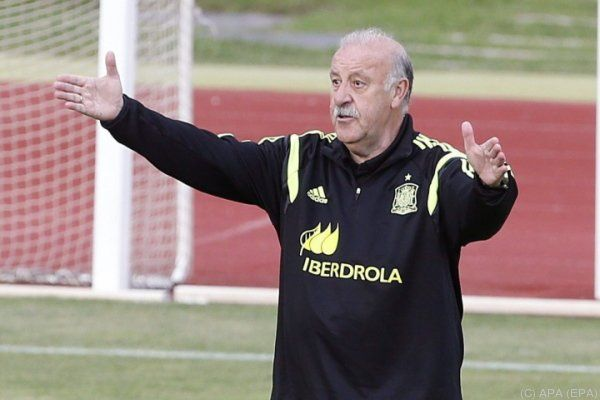 Spaniens Erfolgtrainer Del Bosque ärgert sich über die Medien