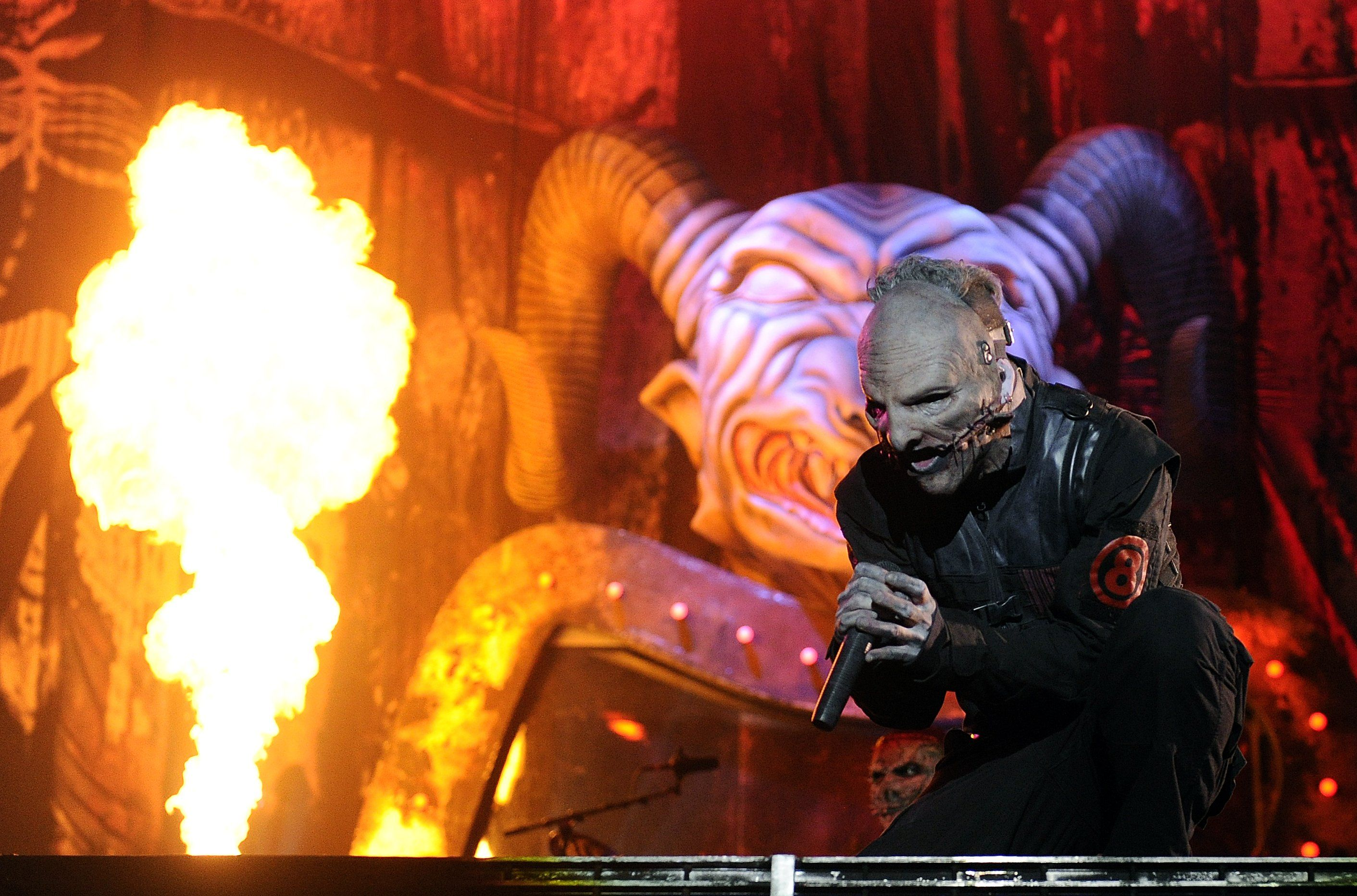 NOVA ROCK 2015: KONZERT / SLIPKNOT