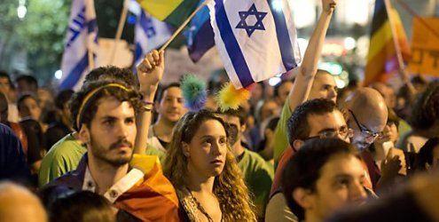 Tausende Israelis demonstrieren gegen jüngste Hassverbrechen