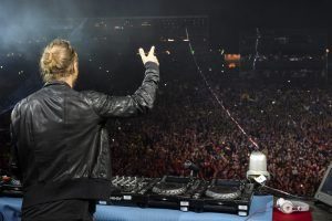 David Guetta als Headliner am Lake Festival 2015