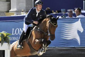 Scott Brash lieferte lockeren Start bei den Vienna Masters