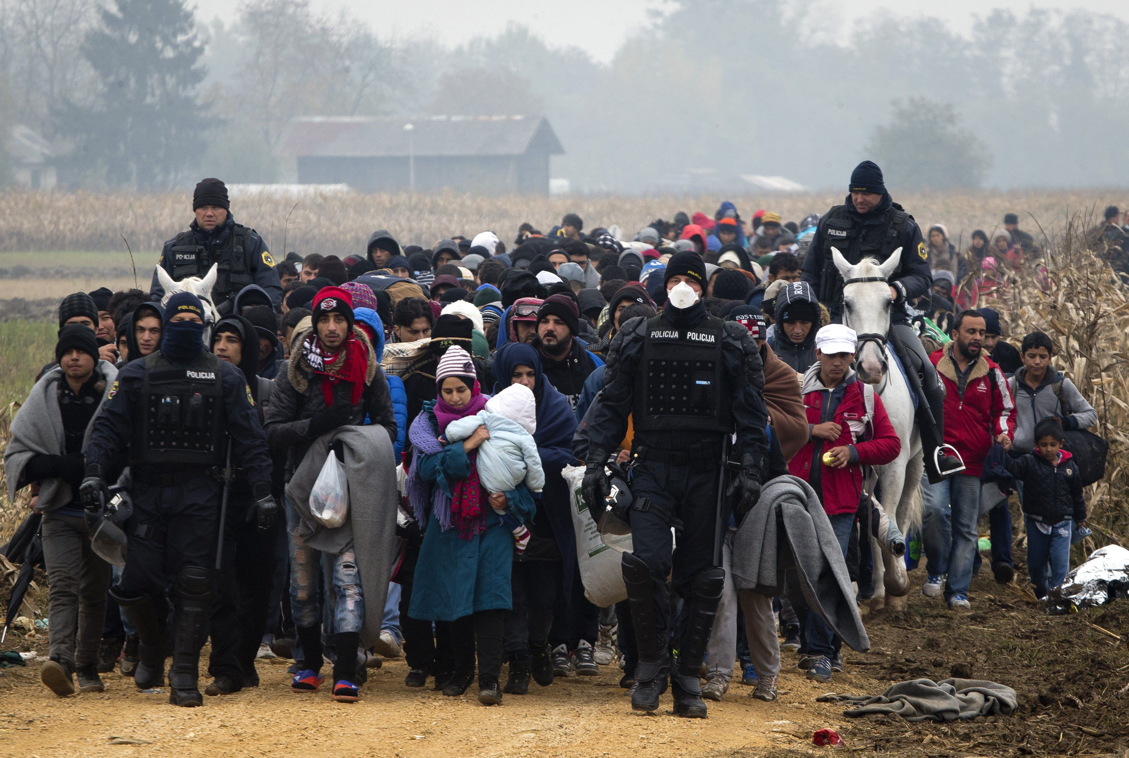Slovenia Migrants