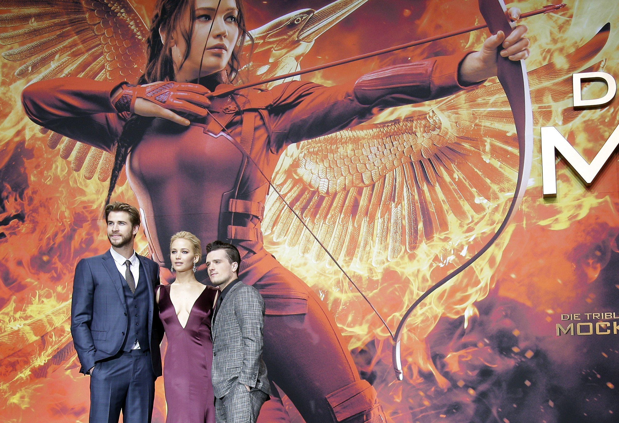 CORRECTION Germany Premiere The Hunger Games Mockingjay Part 2