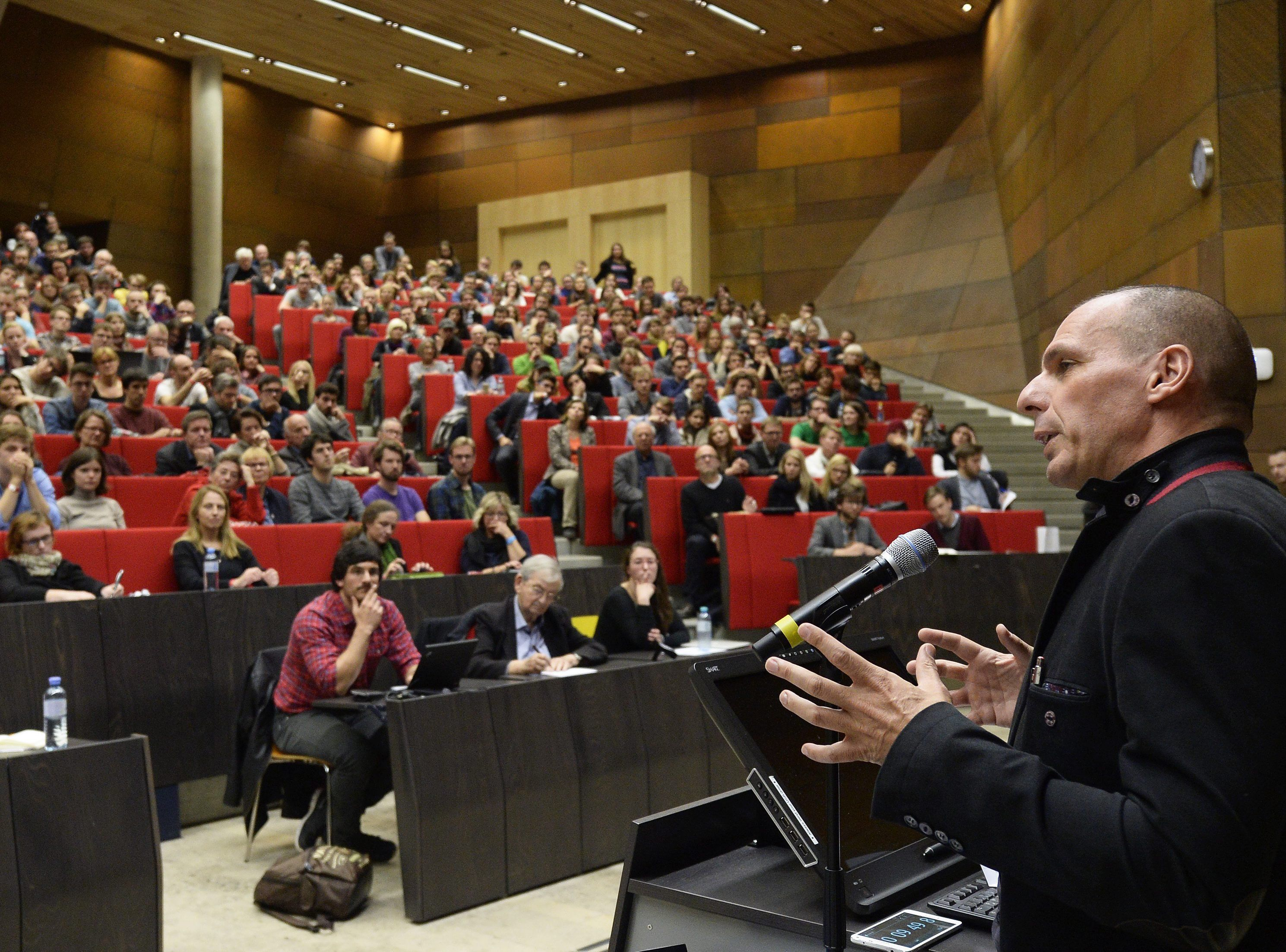 AUSTRIA VAROUFAKIS PANEL DISCUSSION