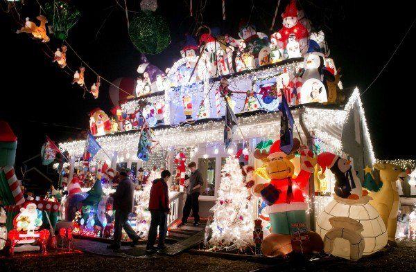 US-Weihnachtslichter verbrauchen mehr Strom als ganze Länder.