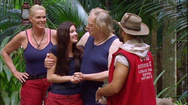 Gunter Gabriel verlässt das Dschungelcamp am 5. Tag freiwillig.