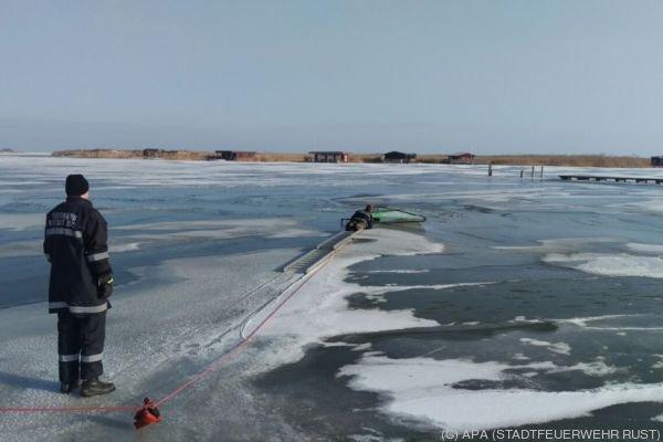 Die Unfallstelle in der Ruster Bucht