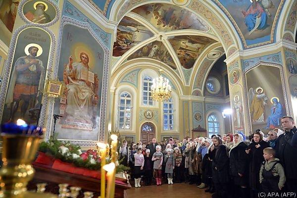 In dieser Kirche feierte auch Wladimir Putin eine Messe