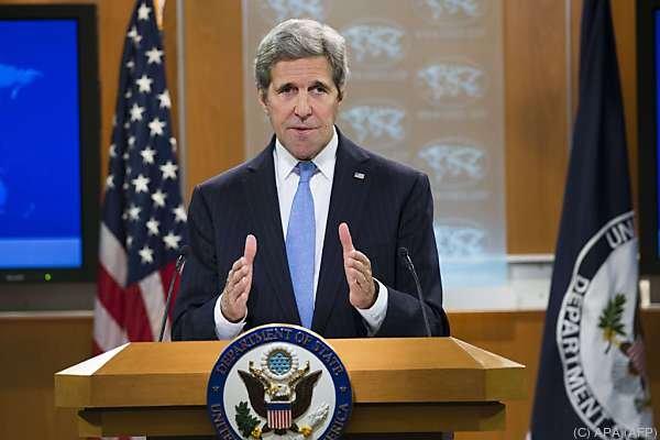 """Der US-Außenminister hält Umsetzung """"binnen Tagen"""" für möglich"""