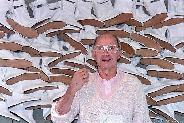 Andre Courreges in einem Workshop im Jahr 1987