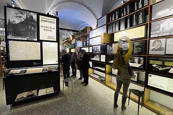 Das im April 2015 eröffnete Literaturmuseum