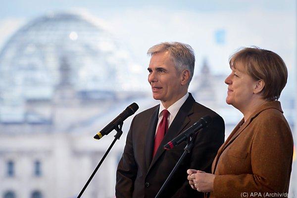 Faymann soll laut ÖVP mit Merkel über Flüchtlinge reden