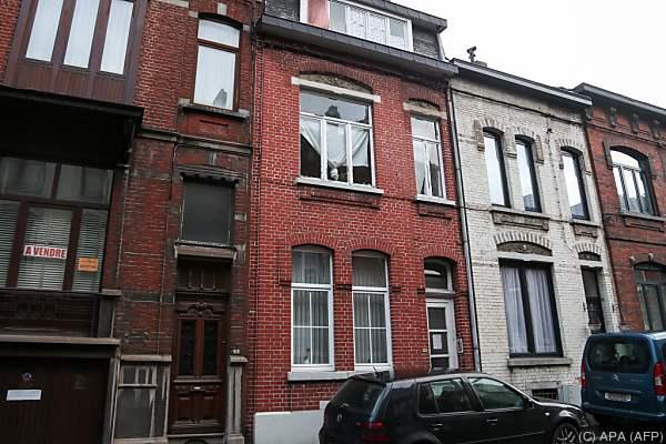 Ein Haus in Charleroi wurde als Versteck identifiziert