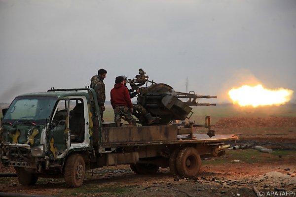 Eine Lösung für den Krieg in Syrien wird angestrebt