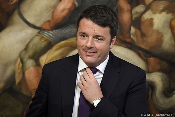 Renzi gilt als Hoffnungsträger vieler Italiener