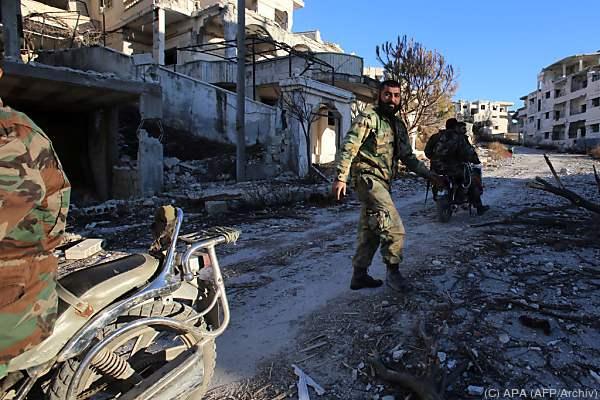 Seit Tagen toben heftige Kämpfe in der Region