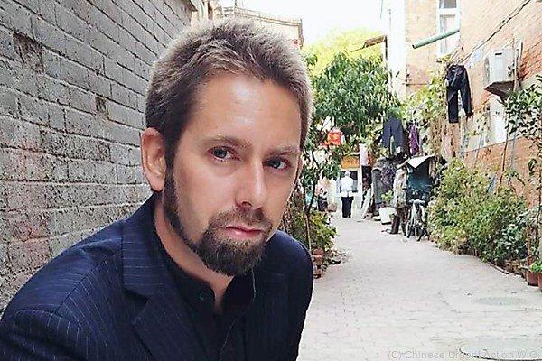 Schwede Peter Dahlin wurde im chinesischen Fernsehen vorgeführt