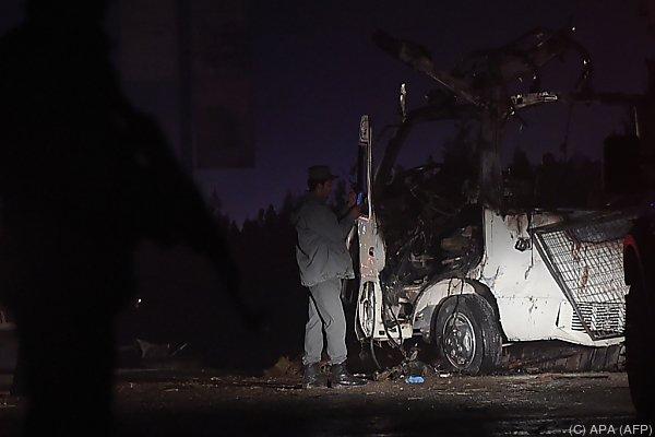 Anschlag vor beliebtem TV-Sender in Kabul
