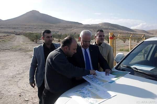Palästinenser protestieren scharf dagegen