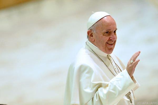 Mahnende Worte an die Politik von Papst Franziskus