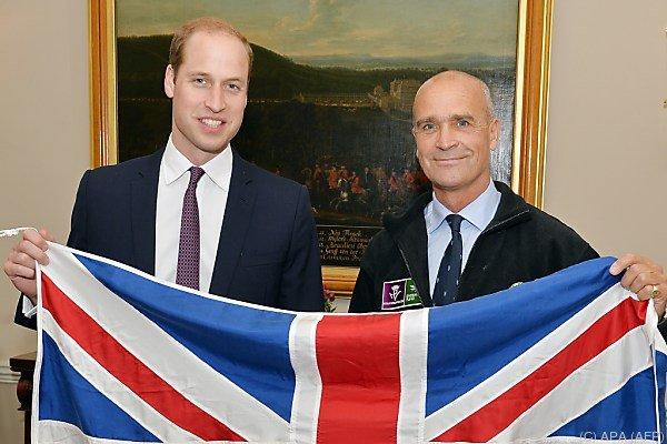 Prinz William war Schirmherr der abenteuerlichen Reise von Worsley