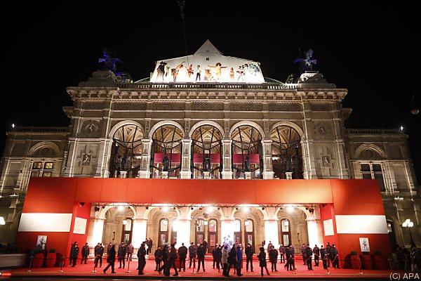 Am 4. Februar findet der Opernball statt