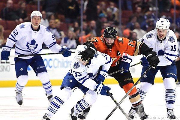 Trotz ordentlicher Gegenwehr setzten sich die Maple Leafs durch